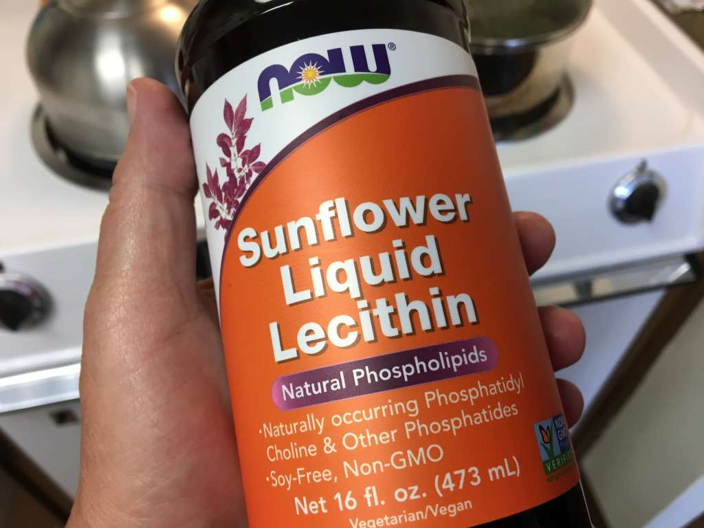 Sunflower lecithin is a must-have for cannabis infusions.