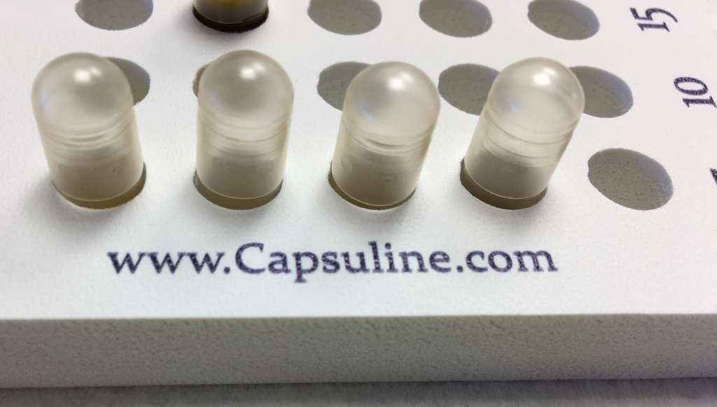 Secure your microdosing capsules.