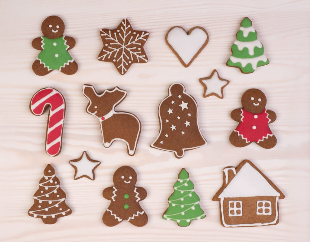 Gingerbread is one of the most iconic cannabis holiday treats you can make.