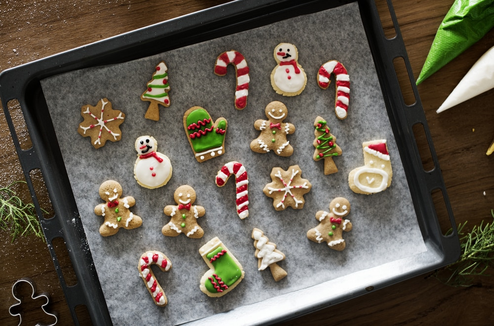 Sugar cookies are a cannabis holiday classic.