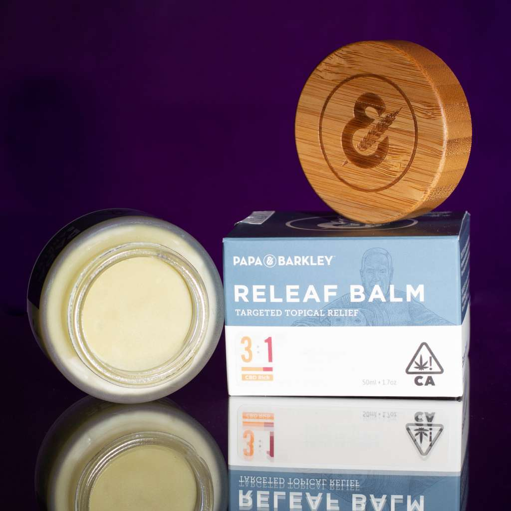 Papa & Barkley Releaf balms are some of the top cannabis topicals on the market.