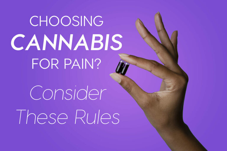 Read more about the article Choosing Cannabis For Pain? Consider These Rules