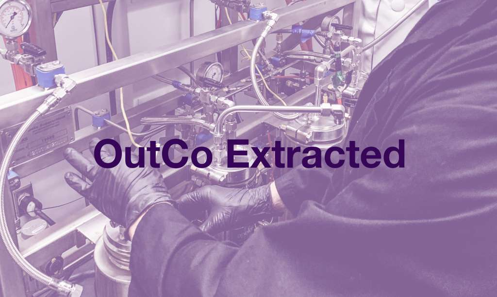 OutCo's cannabis extract lab.