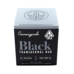 CBD BLACK TRANSDERMAL RUB