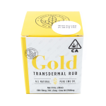 CDB GOLD TRANSDERMAL RUB
