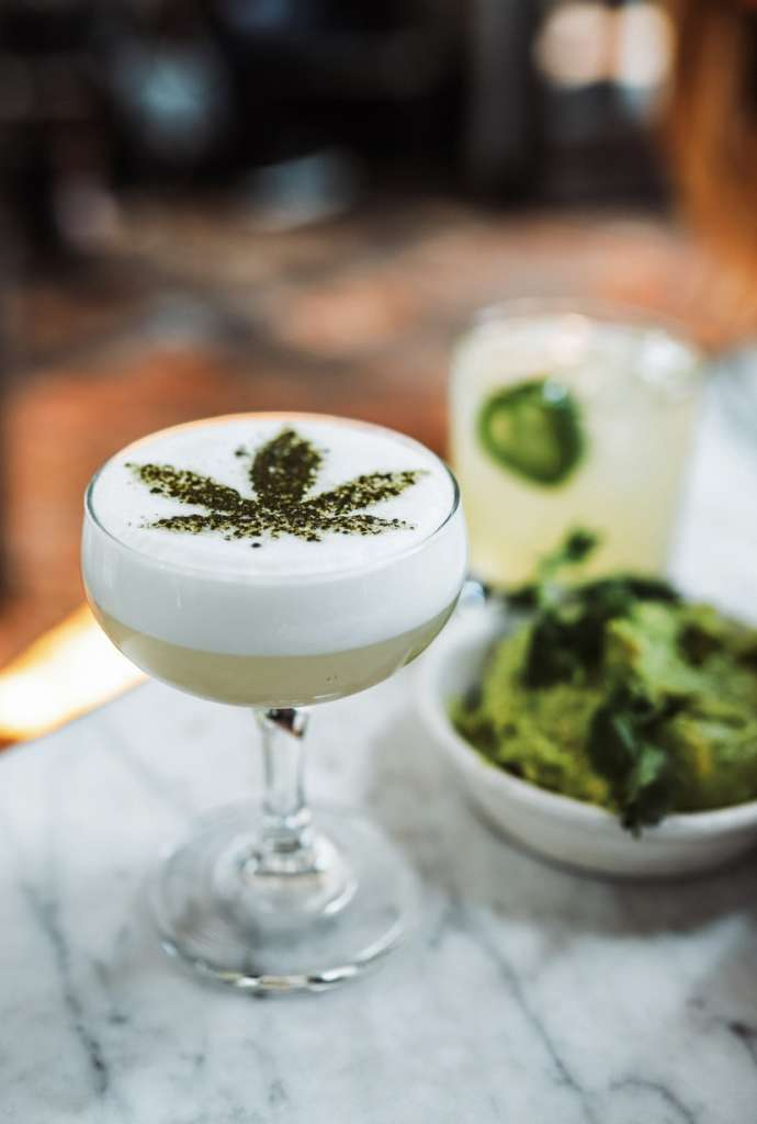 The ever-expanding cannabis lifestyle even offers full tasting menus with canna-cocktails.