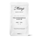 TRANSDERMAL CBD/THC 1:1 PATCH
