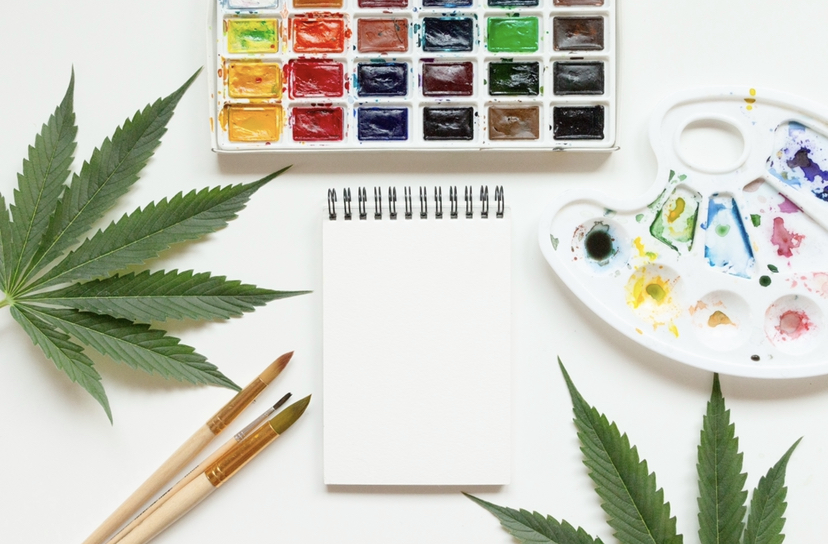 Many people use cannabis to invigorate their creative side.