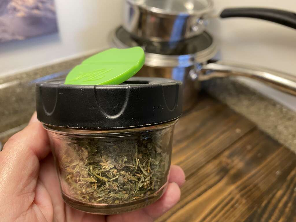 Ground cannabis can be added to dishes as a seasoning.