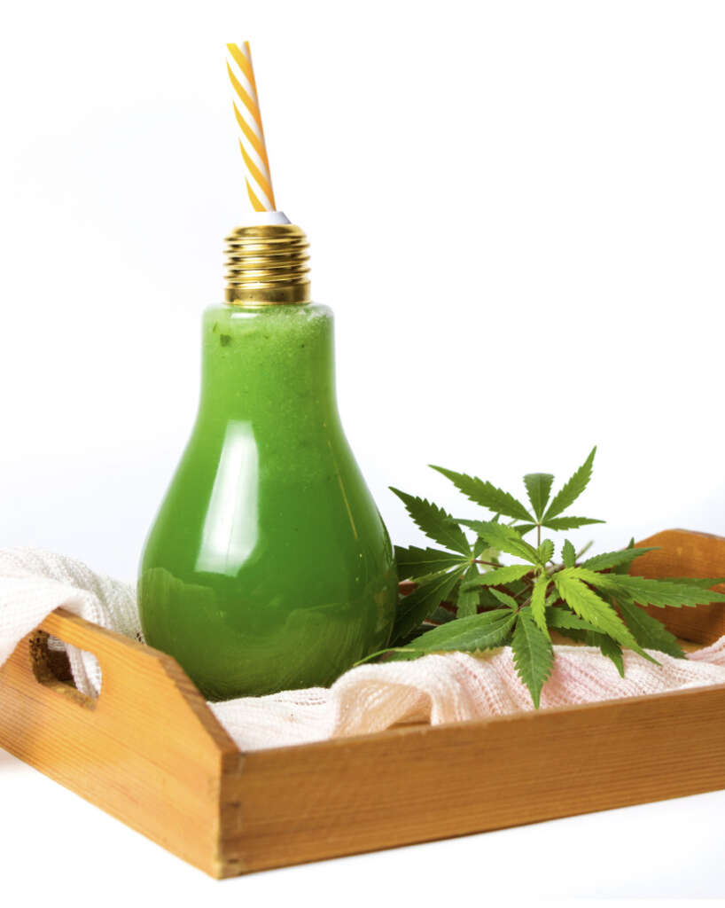 Juicing raw cannabis provides an abundance of cannabinoid acids.