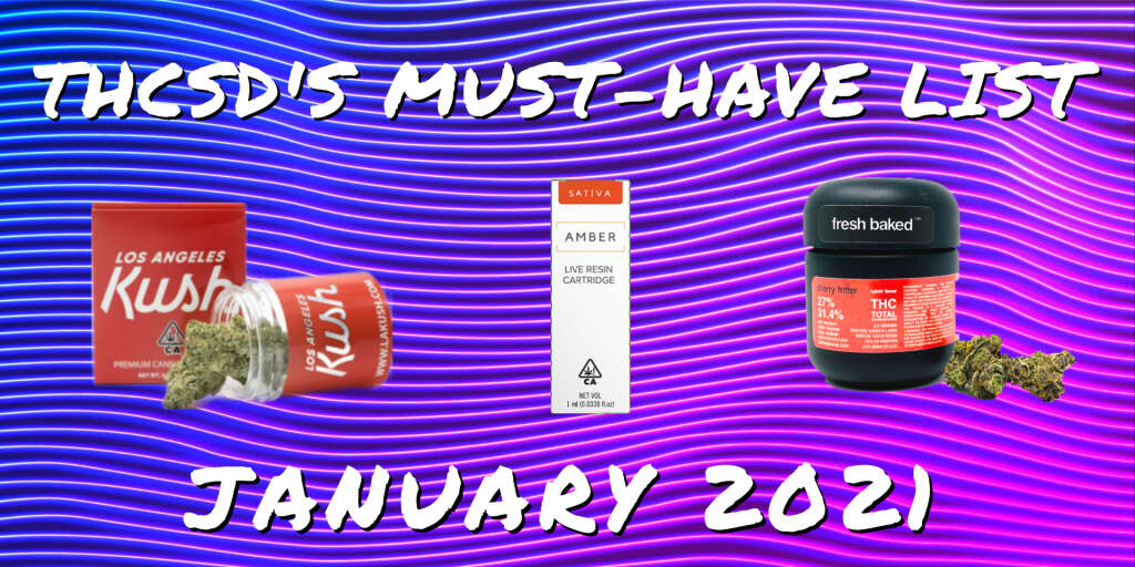A list of THCSD's must-have products in January 2021.